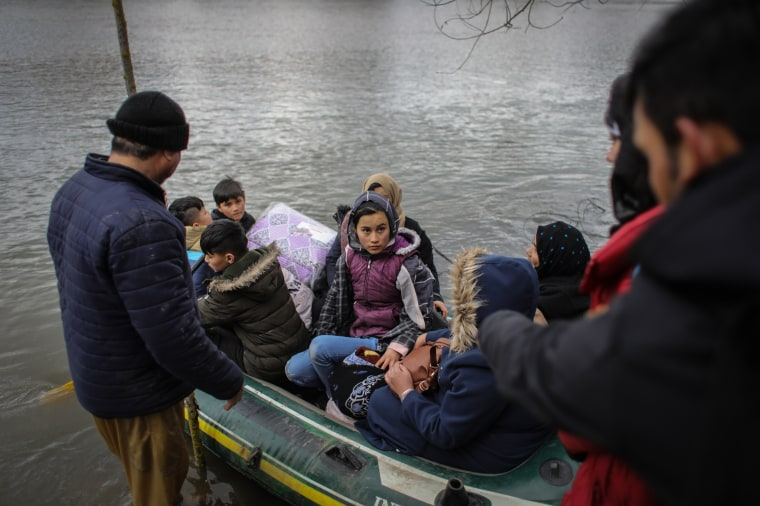 Image: Turkey Says It Won't Stop Refugees From Reaching Europe After Syria Attack