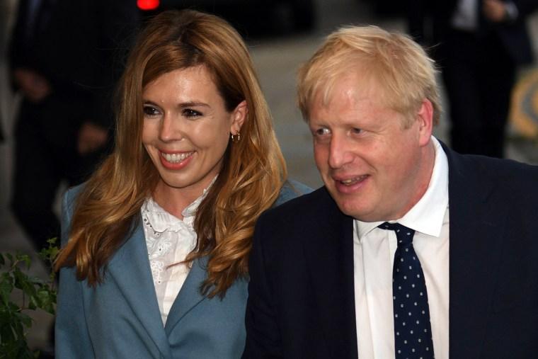 Image: Boris Johnson Carrie Symonds