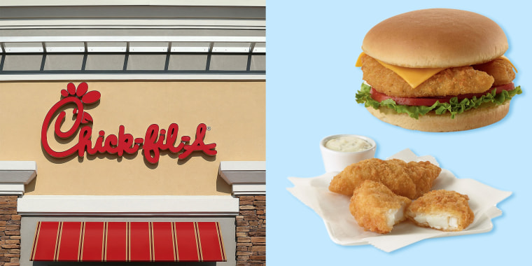 Chick-fil-A is offering limited-edition fish items for Lent.