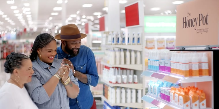 In the commercial, she spoke about how difficult it was for her to start her line of feminine hygiene products and how she wanted to pave the way so the next black girl with a good idea could have it easier.
