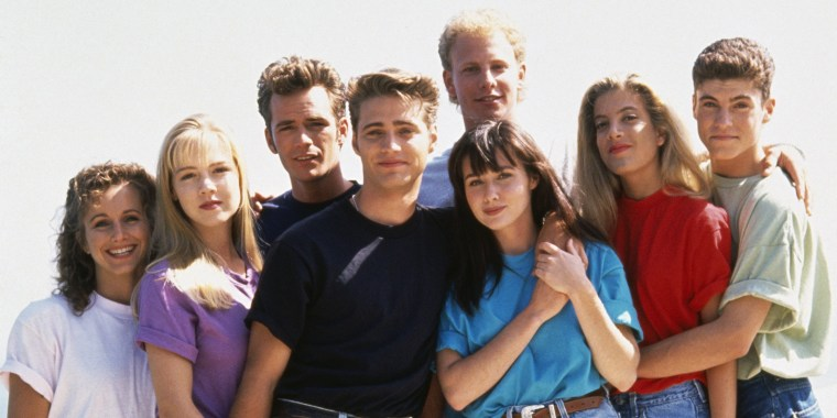 Image: Cast of Beverly Hills, 90210