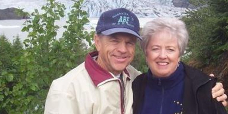 Jimmy and Donna Eaton died side-by-side in a Tennessee tornado on Tuesday.