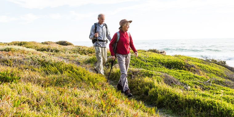 Regular walking and other exercise is good for brain health.