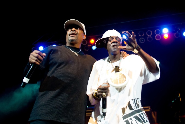 Image: Chuck D and Flavor Flav