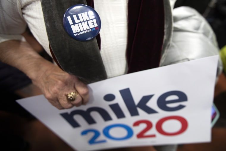 Image: I Like Michael Bloomberg sign
