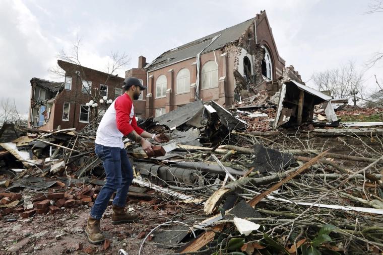 Image: Nashville tornado
