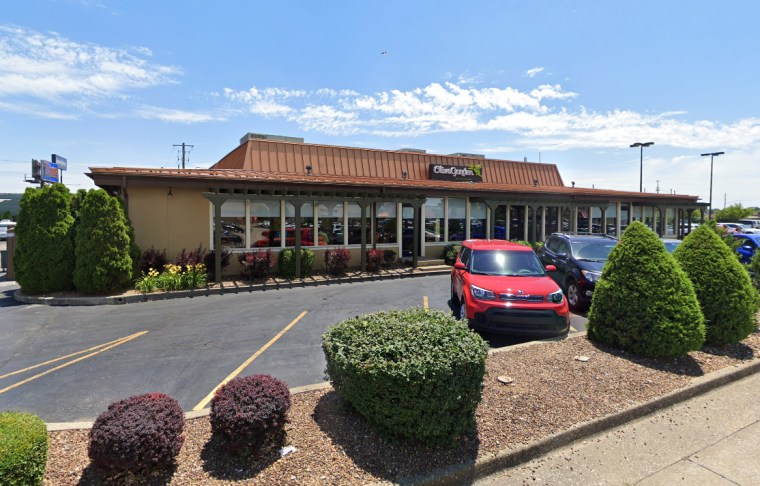 The Olive Garden on Green River Road, in Evansville, Ind.