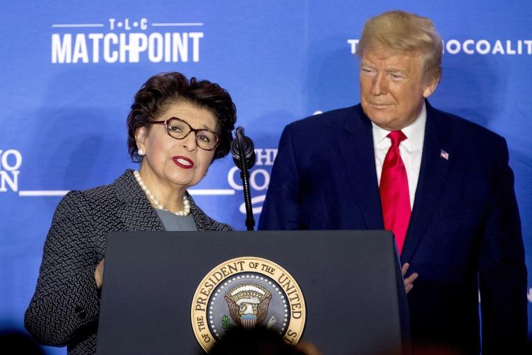 Image: Donald Trump, Jovita Carranza