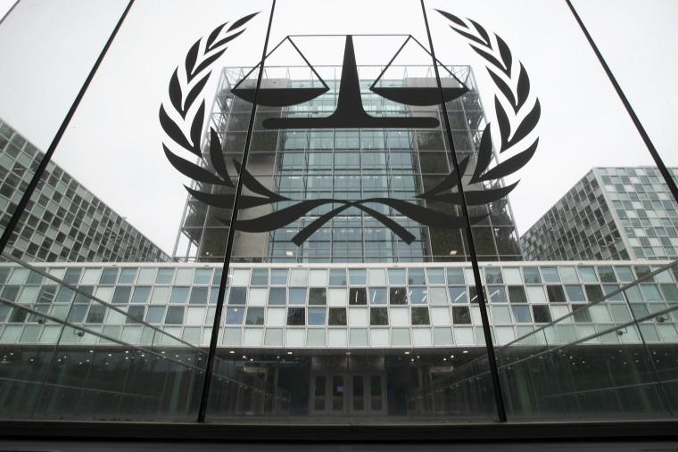 Image: International Criminal Court in The Hague, Netherlands.