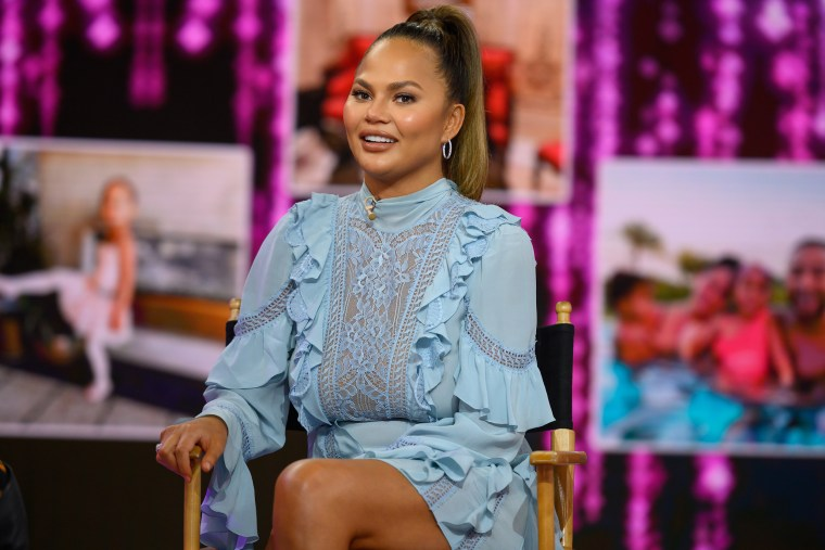 Image: Chrissy Teigen on the TODAY show, Wednesday, Feb. 19, 2020.