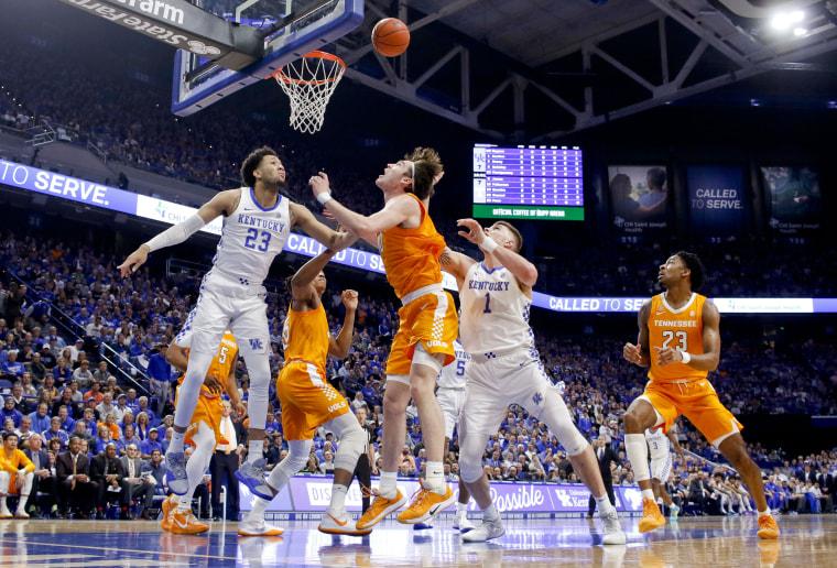 Image: NCAA Basketball: Tennessee at Kentucky