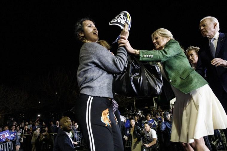 Image: Joe Biden Holds Super Tuesday Rally