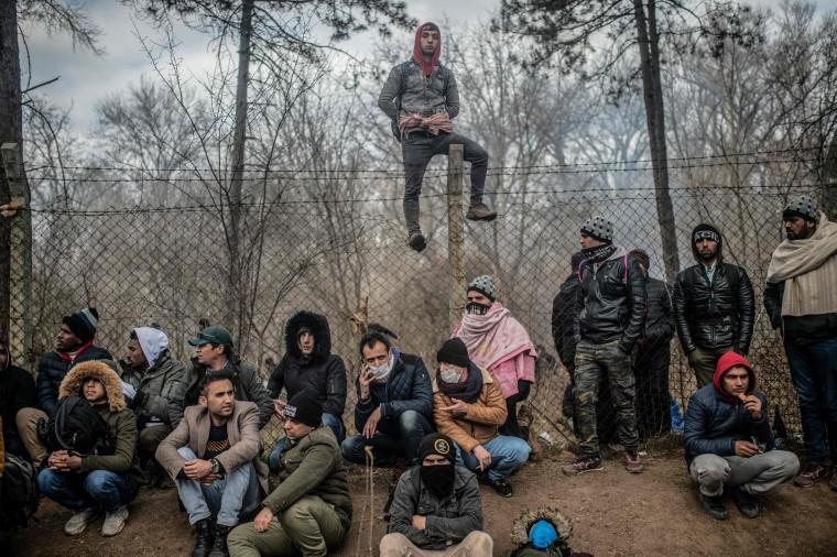 Image: TOPSHOT-TURKEY-SYRIA-GREECE-MIGRANTS