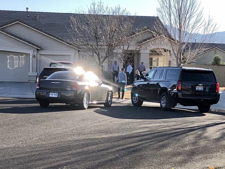 Image: Police investigate Murder suicide