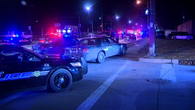 Image: A shooting between rival groups leaves one dead and multiple injured in Cleveland.