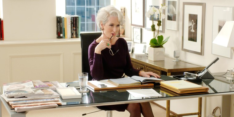 MERYL STREEP, THE DEVIL WEARS PRADA, 2006