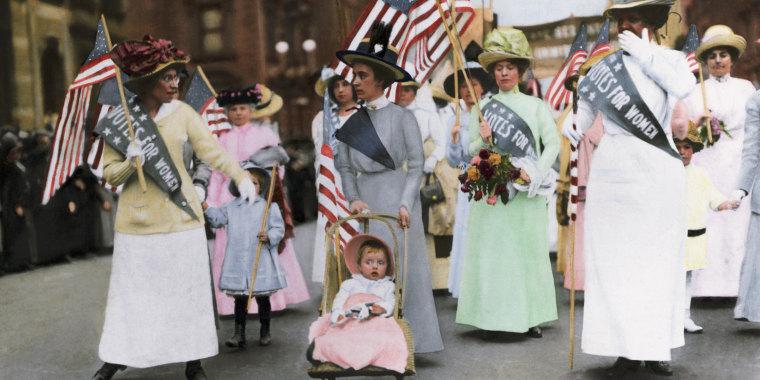 Suffragist Parade in New York