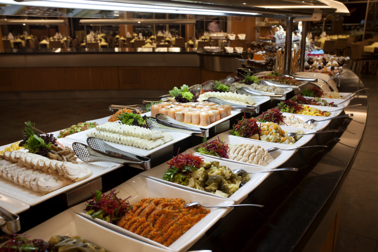Several buffet restaurants in Las Vegas are shutting down to prevent the spread of coronavirus.