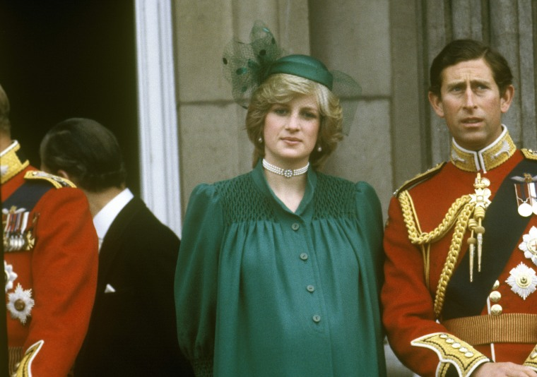 Diana, Princess of Wales,Prince Charles, Prince of Wales ,Diana is pregnant with Prince William ,Trooping the Colour