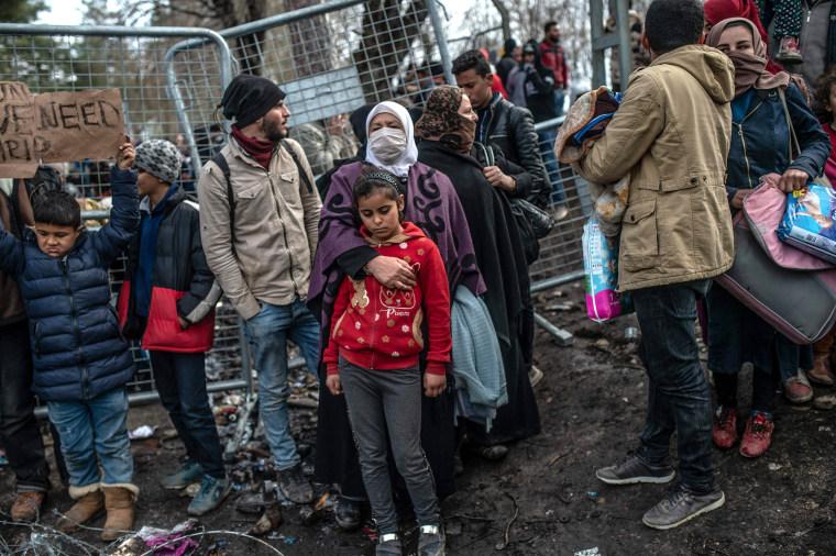 Image: Refugees, Syria, Turkey-Greece border