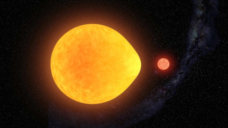 A new type of pulsating star whose brightness oscillates over only one of the stars hemispheres has been discovered. The unusual behavior was first noticed by citizen scientists inspecting data from NASA's Transiting Exoplanet Survey Satellite