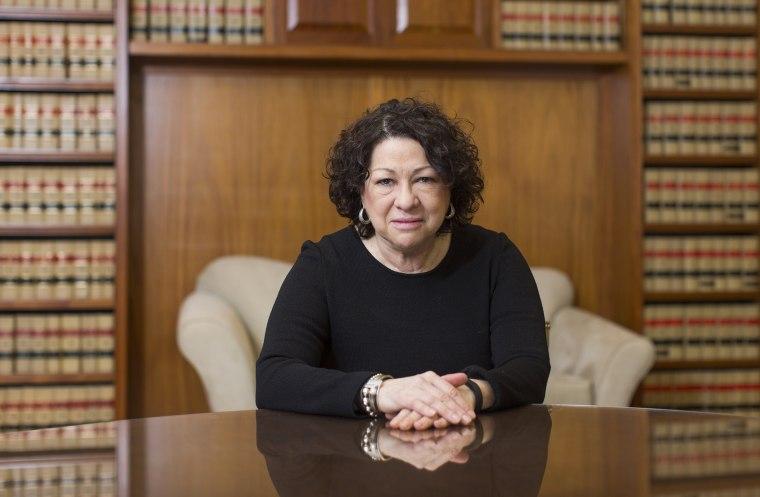 Portrait of Supreme Court Justice Sotomayor