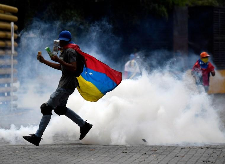 Image: VENEZUELA-CRISIS-OPPOSITION-DEMONSTRATION