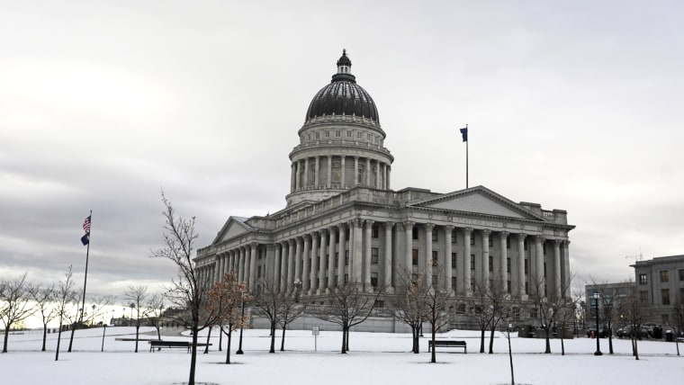 The Utah Capitol, in Salt lake City on Jan. 27, 2020.