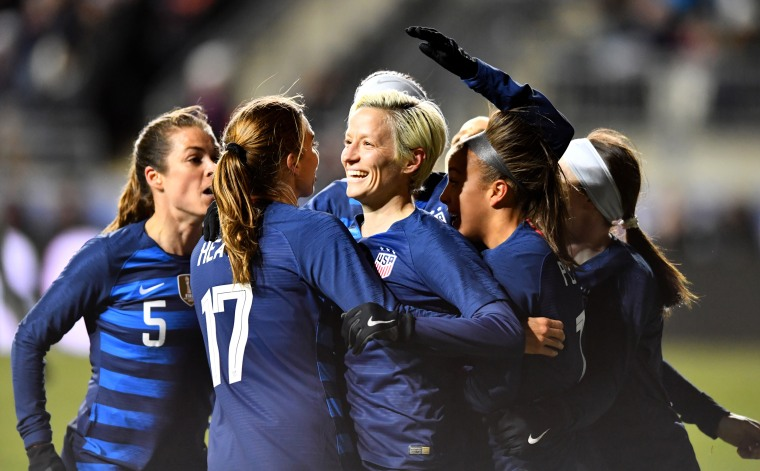 Image: SOCCER: FEB 27 SheBelieves Cup - USA v Japan