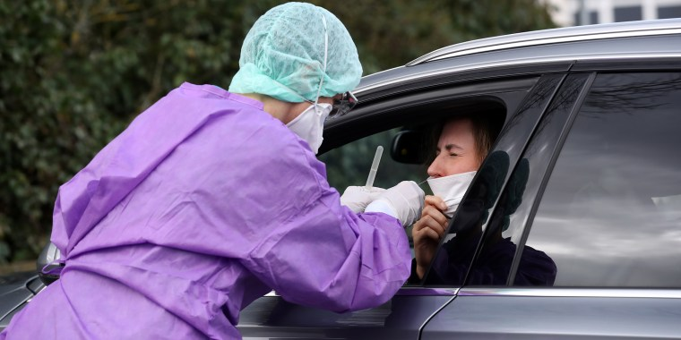 Clinic Offers Drive-In Coronavirus Testing As Nationwide Infections Continue To Rise