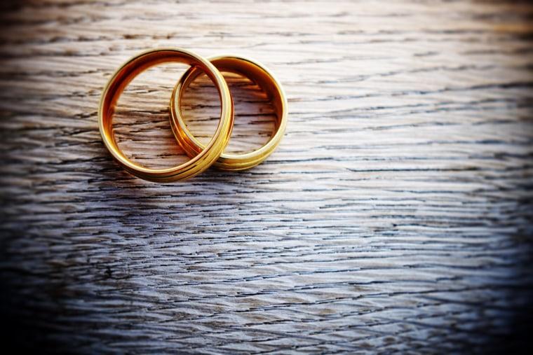 Image: Wedding rings
