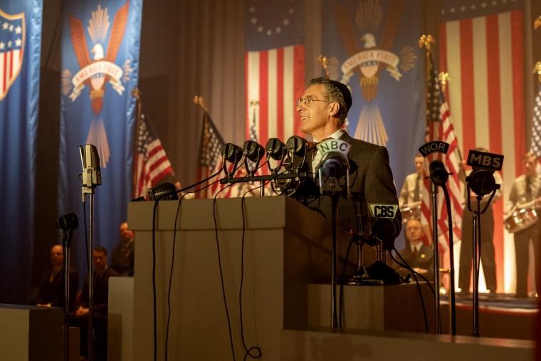 """Image: John Turturro in """"The Plot Against America."""""""