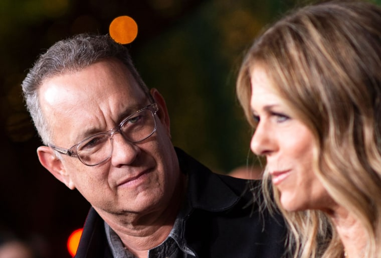 Image: Tom Hanks, Rita Wilson