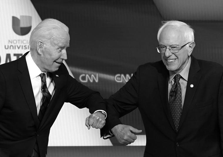 Image: Bernie Sanders, Joe Biden