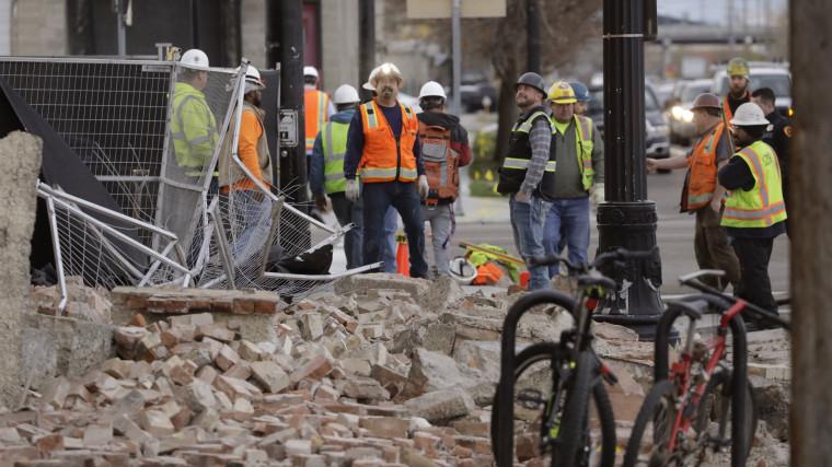 Image: Salt Lake City earthquake