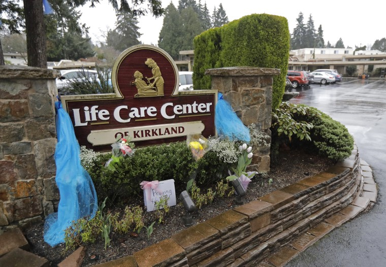 Image: The Life Care Center in Kirkland, Wash.,