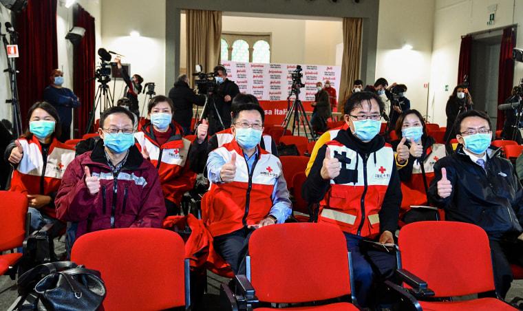 Image: CHina Medical Team