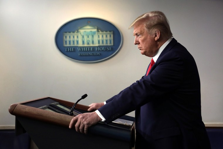 Image: White House Coronavirus Task Force Holds Daily Briefing