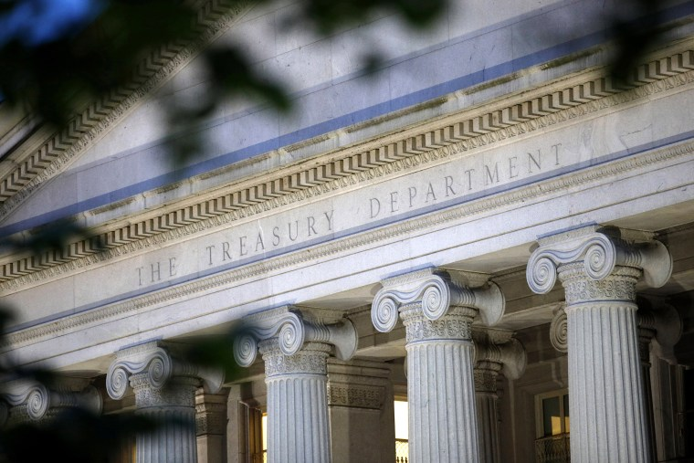 Image: Treasury Dept