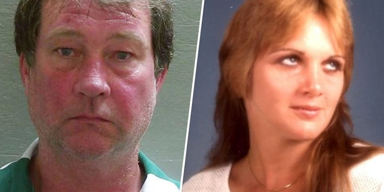 IMage: Daniel Wells was arrested in connection with the 1985 murder of Tonya McKinley in Florida.