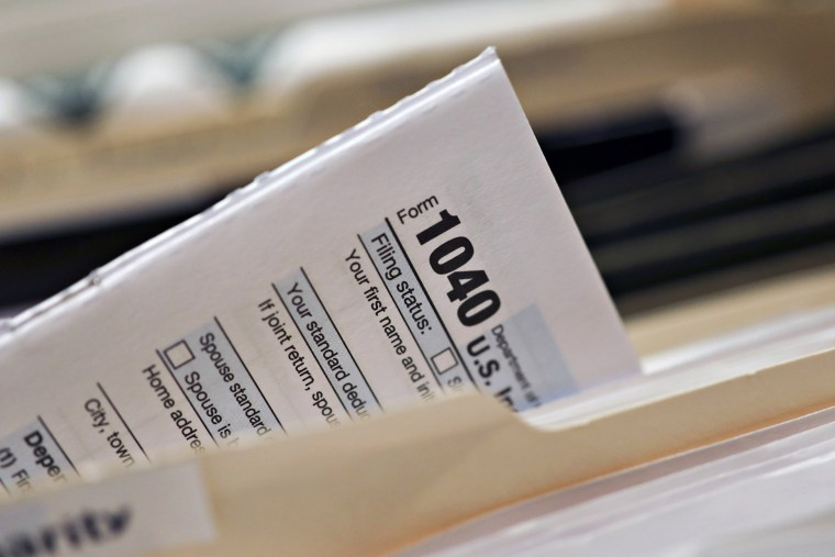 Internal Revenue Service Forms Ahead Of 2018 Income Tax Deadline