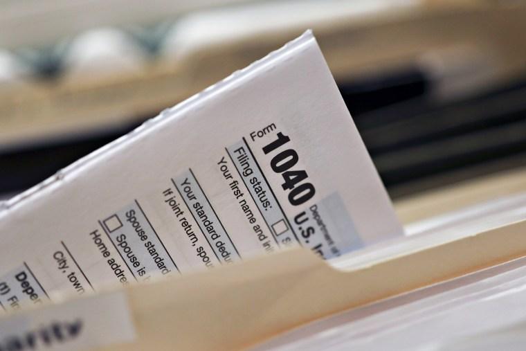 Internal Revenue Service Forms Ahead Of 2018 Income Tax Deadline