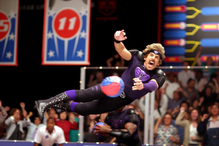 "Image: Ben Stiller in ""Dodgeball: A True Underdog Story."""