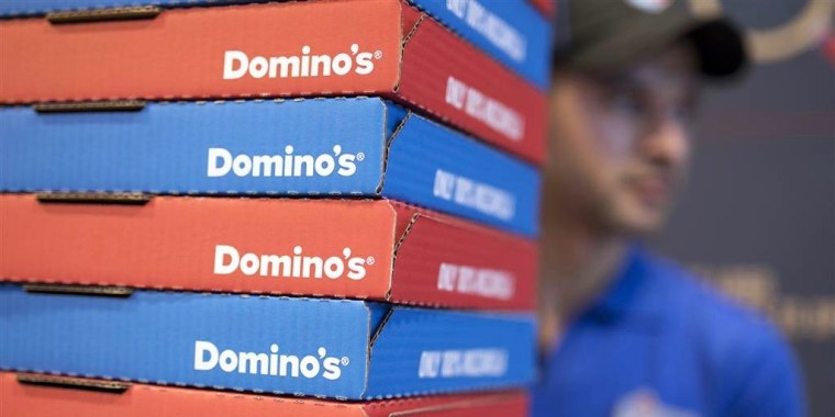 Domino's and other companies are hiring thousands of new workers to meet the rising demand of takeout and other food services.