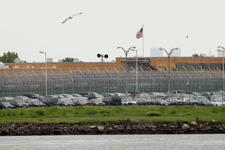 Image: A view of the Rikers Island prison complex