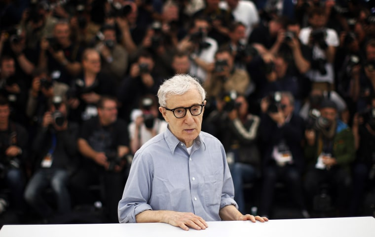 IMage: Woody Allen at the Cannes Film Festival in France in 2016.