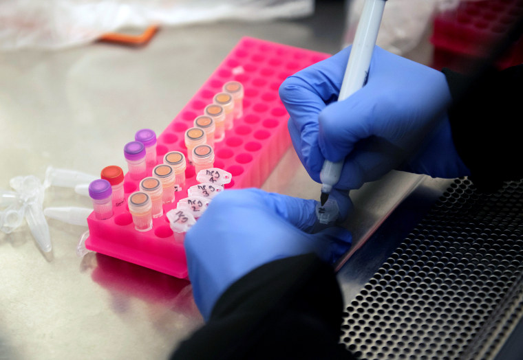 Image: Researchers set up new labs to help fight coronavirus at the University of Minnesota