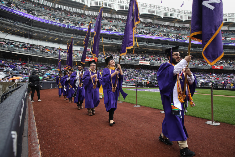 New York University's Graduation Ceremony