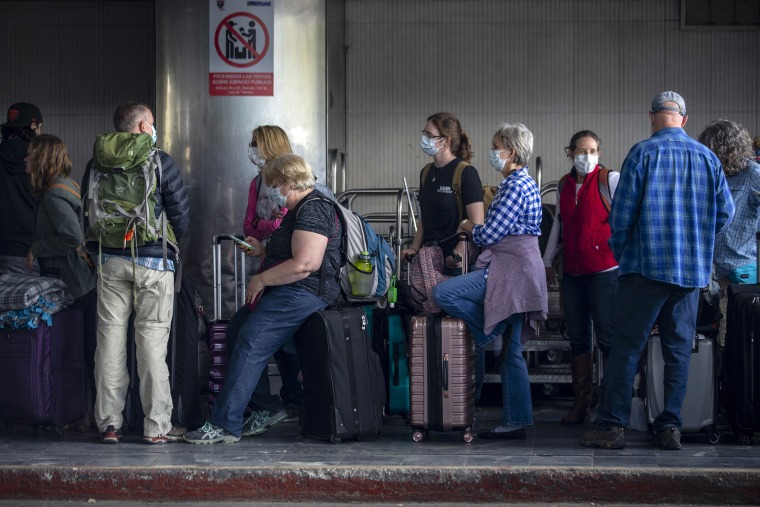 Image: Travelers, Guatemala, COVID-19,coronavirus
