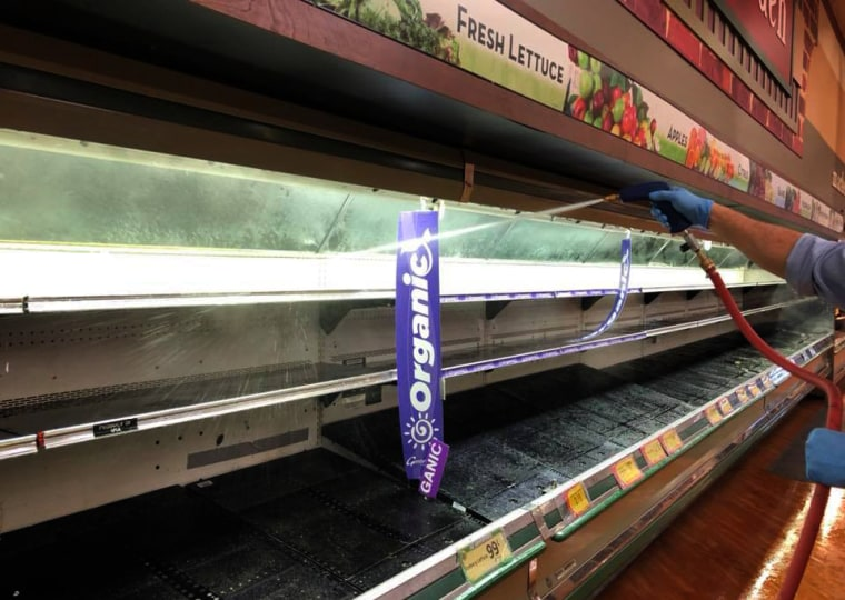 Image: A Pennsylvania grocery story disposed of about $35,000 worth of food after a customer purposefully coughed on it.